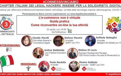 Webinar su E commerce dei Legal Hachers