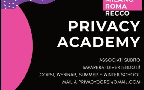 Volantino Privacy Academy