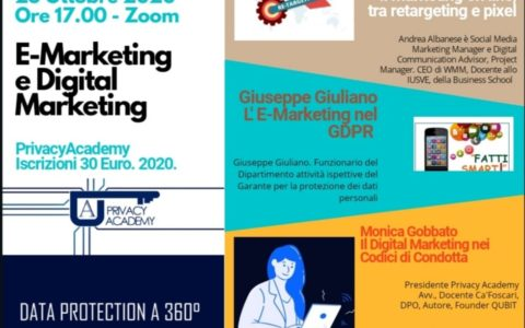 DPO. Lezione 3. E- Marketing e Digital Marketing