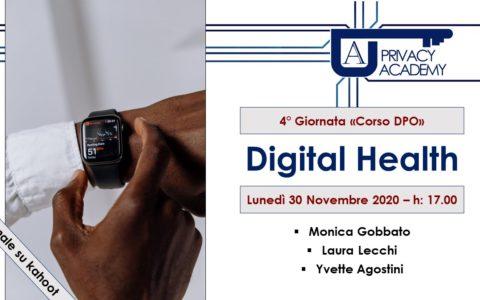 eHealth – Corso Per DPO  – 4° Giornata sulla Sanità Digitale